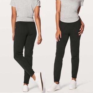 SOLD * Lululemon Free To Roam jogger black size 4